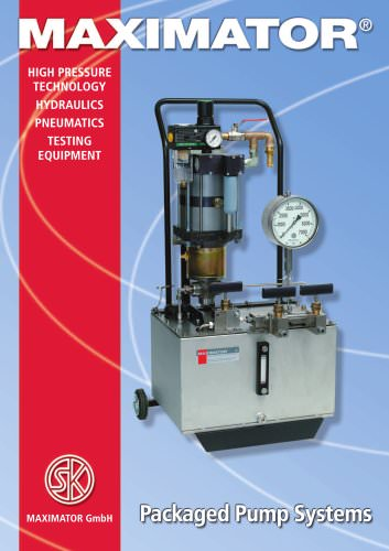 MAXIMATOR Package Pump Systems