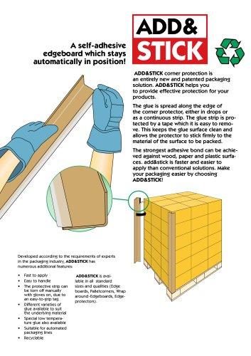 adhesive carton corner