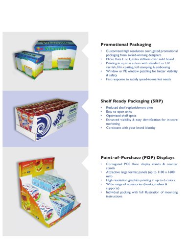 conserving packaging