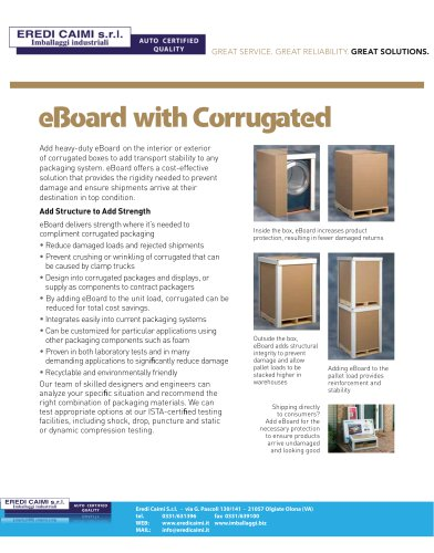 corner combination packaging