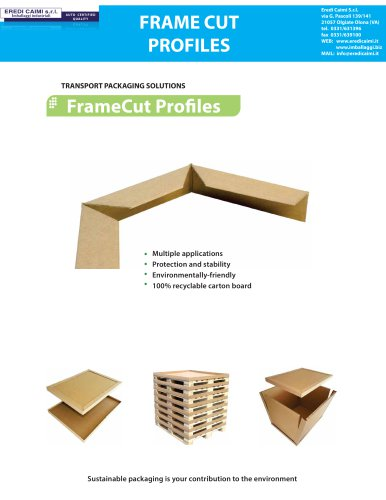 FrameCut Profiles
