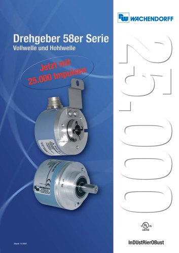Encoders 58 Series