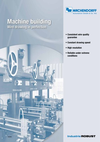 Machine building