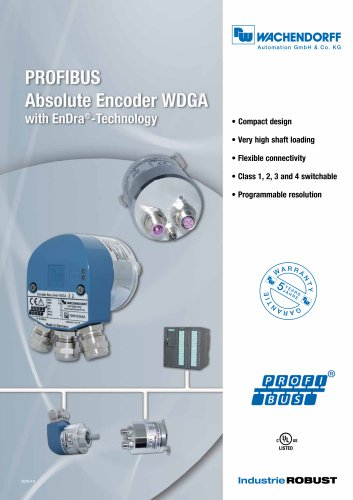 PROFIBUS Absolute Encoder WDGA