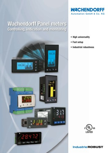 Wachendorff Panel meters
