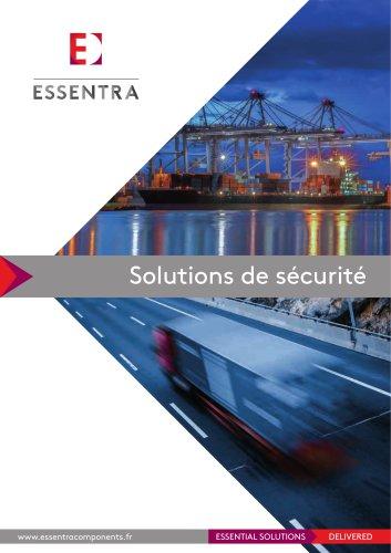 Solutions de sécurité