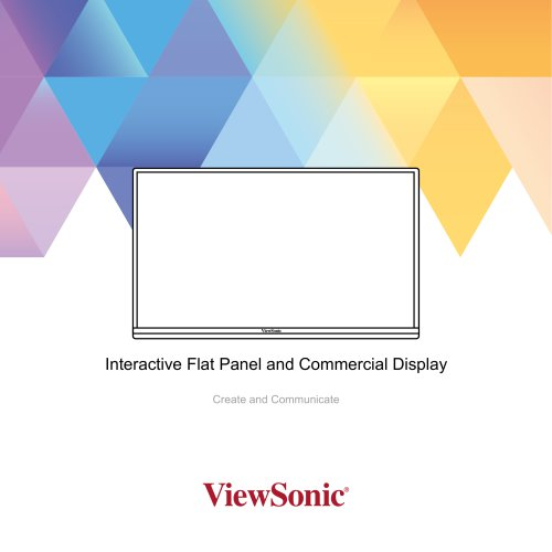 Interactive Flat Panel and Commercial Display