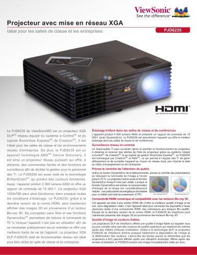 Networkable XGA Projector