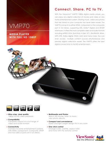 VMP70 Digital Media Player