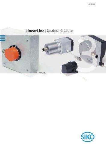 LinearLine | Capteurs à câble