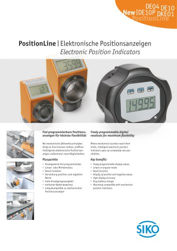 PositionLine | Electronic Position Indicators