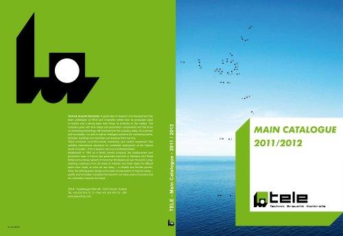 TELE-Main catalogue 2011/ 2012