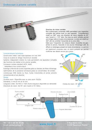 Endoscope rigide à prisme variable HKB