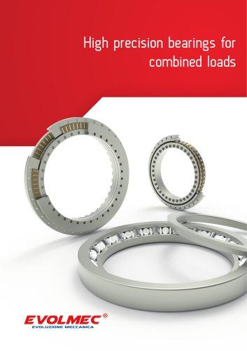 Bearings for machine tools - EVOLMEC - EVMU - 01.2015