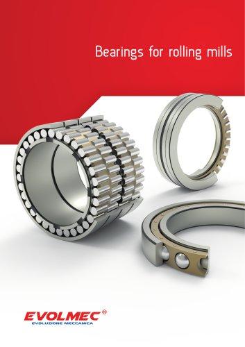 Bearings for rolling mills - EVOLMEC - EVMW - 03.2018