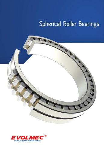Spherical Roller Bearings - EVOLMEC - EVSRB - 02.2021