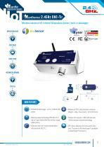 BeanDevice ONE-TIR - Wireless Infrared Temperature Sensor with built-in datalogger - Datasheet
