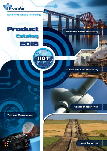 Catalog of products 2018 - Get Ready for a new generation of IOT sensors