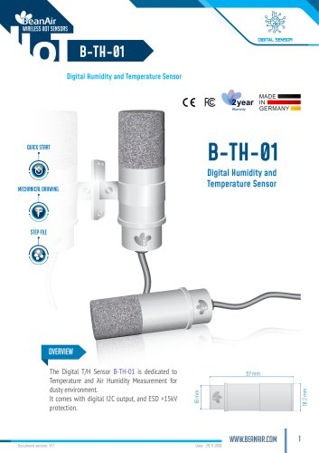 Digital T/H Sensor  B-TH-01