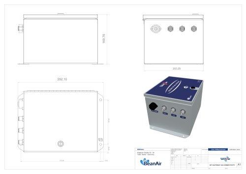 Drawing Wireless Coordinator 4G - IOT Gateway