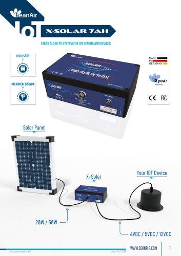 X-Solar- Solar Power charger