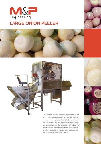 Large Onion Peeling Machine