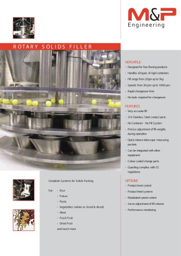 ROTARY SOLIDS FILLER