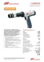 118MAX Air Hammer Product Data Sheet