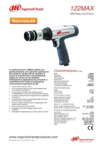 122MAX Air Hammer Product Data Sheet