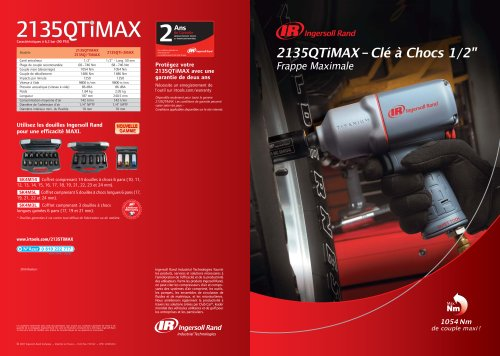 2135QTiMAX-Clé à Chocs