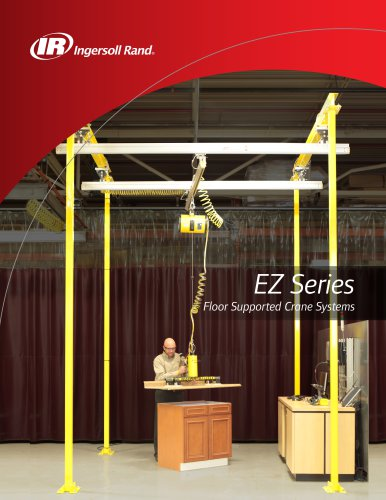 EZ SERIES FLOOR SUPPORTED CRANE SYSTEM