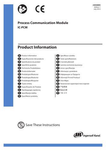 Process Communication Module IC-PCM
