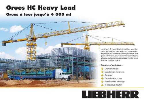 Grues HC Heavy Load