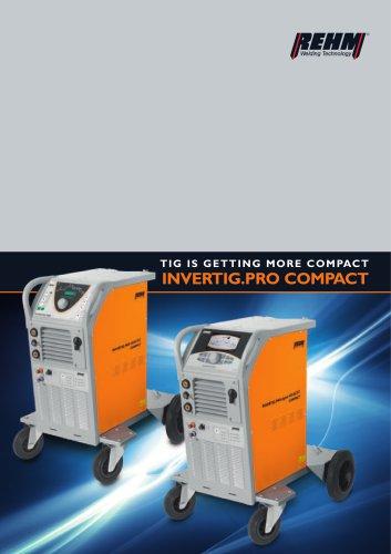 TIG welding machines INVERTIG.PRO® COMPACT