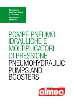 Catalog - Pneumohydraulic Pumps And Booster