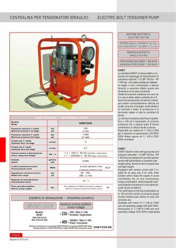 electric power unit E508/T-EOS