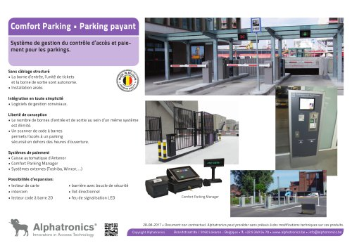 Parking payant - Comfort Parking