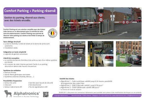 Parking réservé - Comfort Parking
