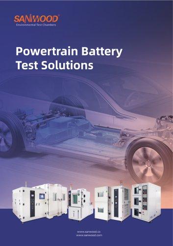 Battery test equipment -Powertrain Battery Solution