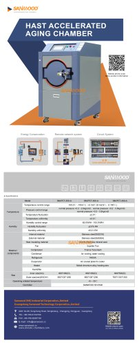 BOILING TEST CHAMBER / ENVIRONMENTAL STRESS SCREENING / HAST / AGING SM-PCT-300-A