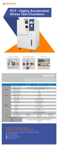 Climatic test chamber SM-PCT-250-A