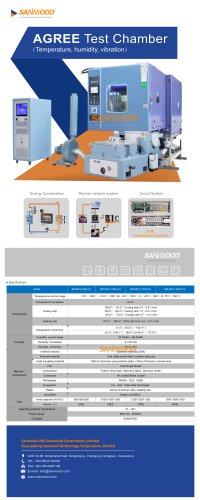 Environmental test chamber SM-MVH-CC series