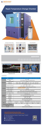 ESS TEST CHAMBER / HUMIDITY AND TEMPERATURE / AUTOMATIC / FOR RAPID TEMPERATURE CYCLING
