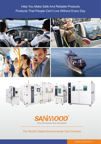 Sanwood Test Chamber Product catalogue