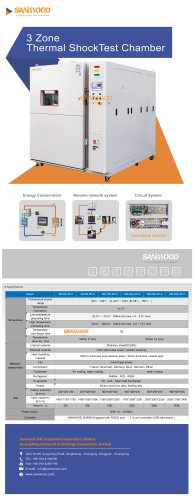 Thermal shock test chamber SM-200-3P-A
