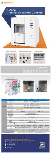 Three Zone Thermal Shock Chamber