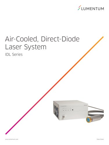 Air-Cooled, Direct-Diode Laser System (IDL Series)