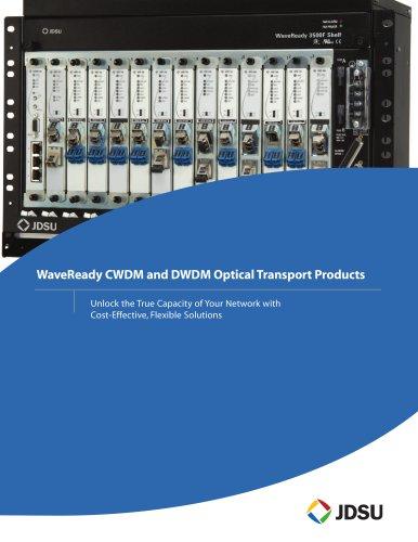 WaveReady CWDM and DWDM Optical Transport Products Brochure