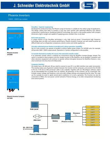 Phoenix Inverter 1200VA-5000VA