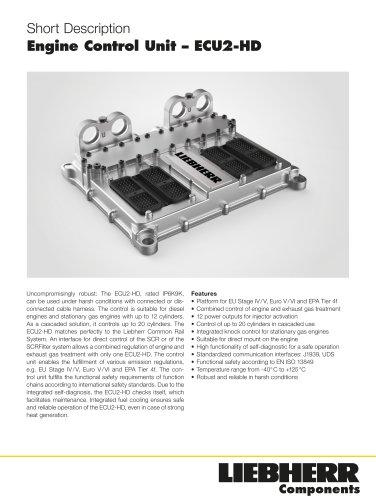 Engine Control Unit – ECU2-HD